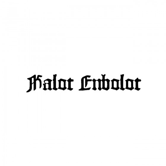 Kalot Enbolotband Logo...