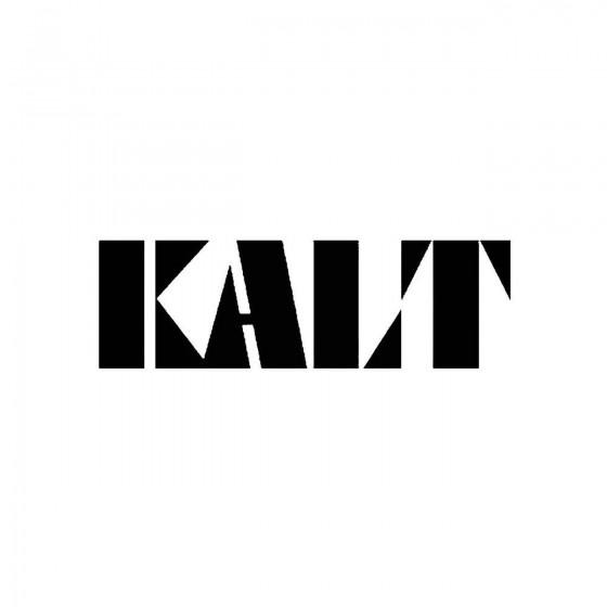 Kaltband Logo Vinyl Decal