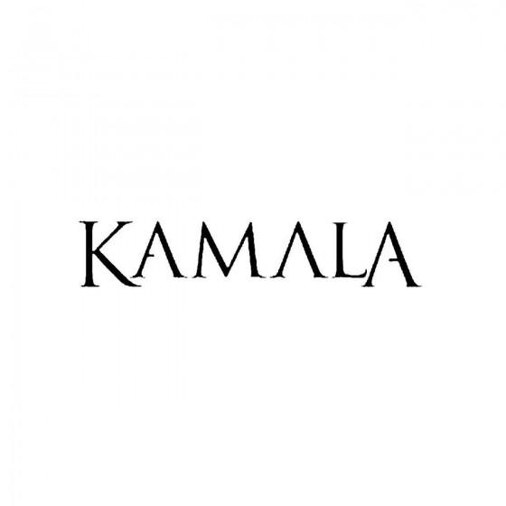Kamalaband Logo Vinyl Decal