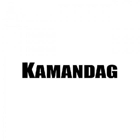 Kamandagband Logo Vinyl Decal
