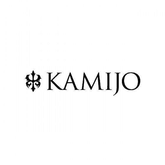 Kamijoband Logo Vinyl Decal