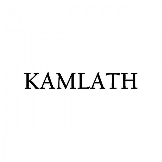 Kamlathband Logo Vinyl Decal