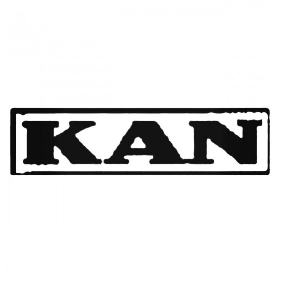 Kan Band Decal Sticker