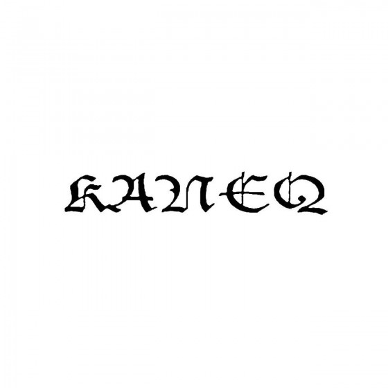 Kaneqband Logo Vinyl Decal