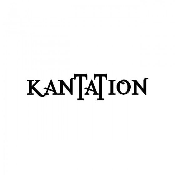 Kantationband Logo Vinyl Decal
