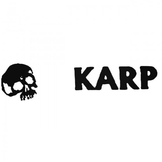 Karp Band Decal Sticker