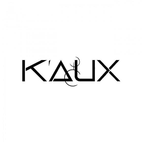 Kauxband Logo Vinyl Decal