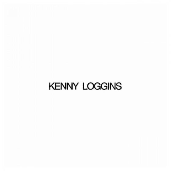 Kenny Loggins Band Decal...