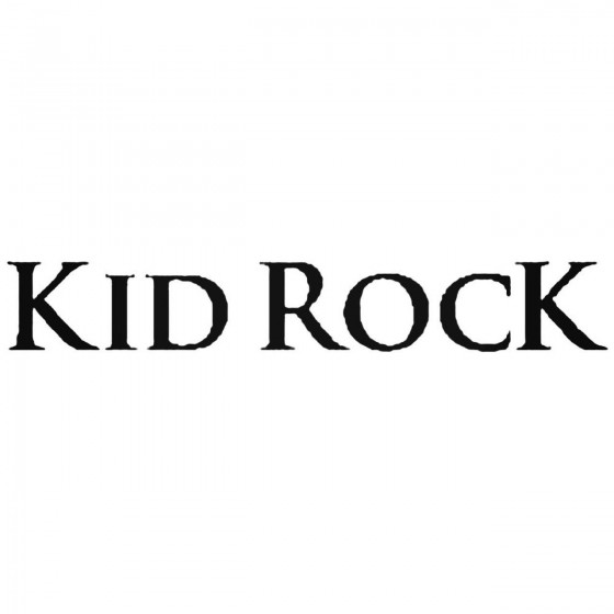 Kid Rock Logo Vinyl Band...
