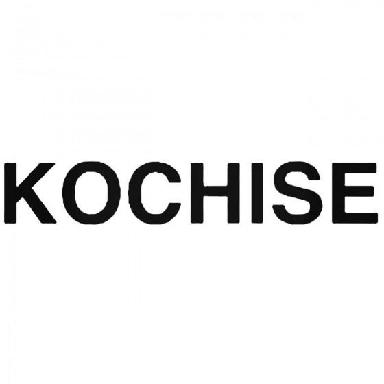 Kochise Band Decal Sticker