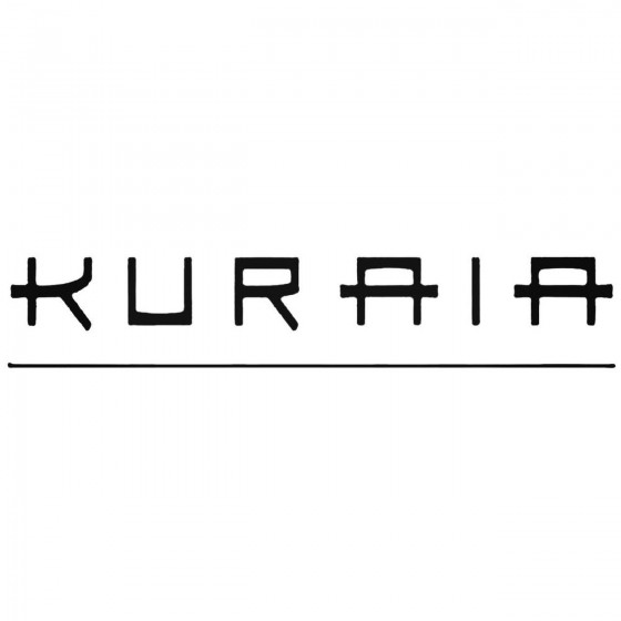 Kuraia Band Decal Sticker