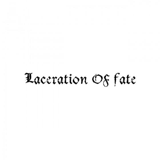 Laceration Of Fateband Logo...