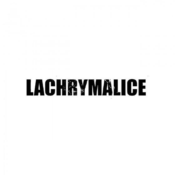 Lachrymaliceband Logo Vinyl...