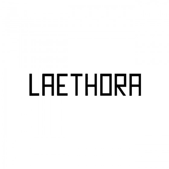 Laethoraband Logo Vinyl Decal