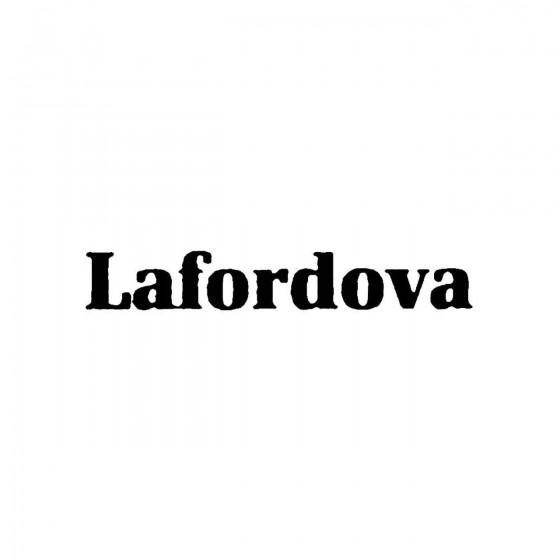 Lafordovaband Logo Vinyl Decal