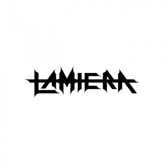 Lamieraband Logo Vinyl Decal