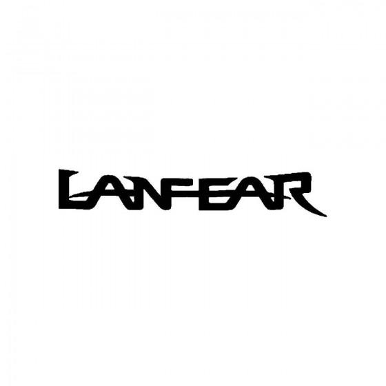 Lanfearband Logo Vinyl Decal