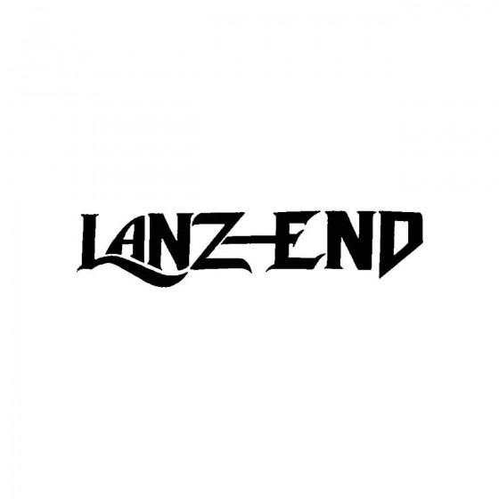 Lanz Endband Logo Vinyl Decal