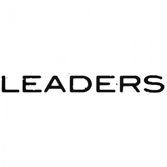 Leaders Band Decal Sticker