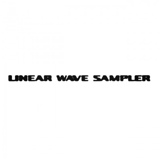 Linear Wave Sampler Decal...