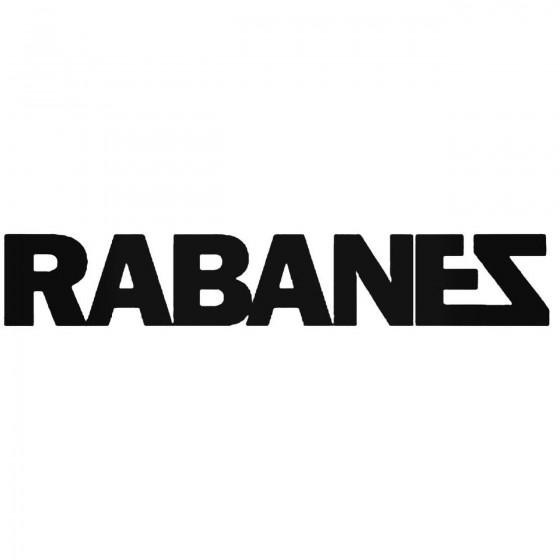 Los Rabanes Band Decal Sticker