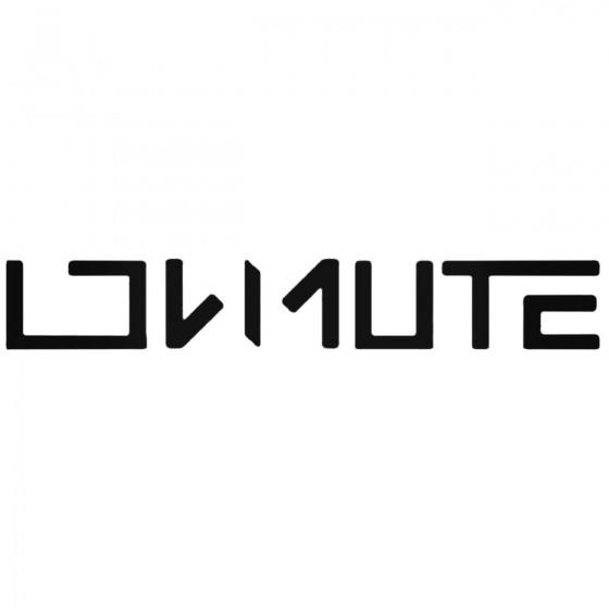 Lowmute 2 Decal Sticker