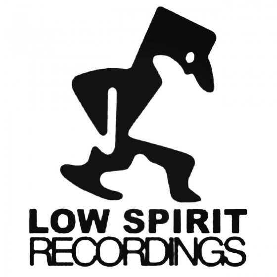 Low Spirit Recordings Decal...