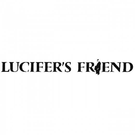 Lucifers Friend Band Decal...