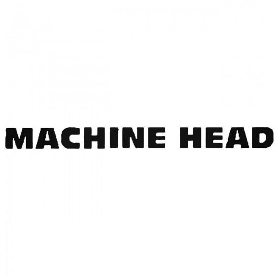 Machine Head Esp Band Decal...