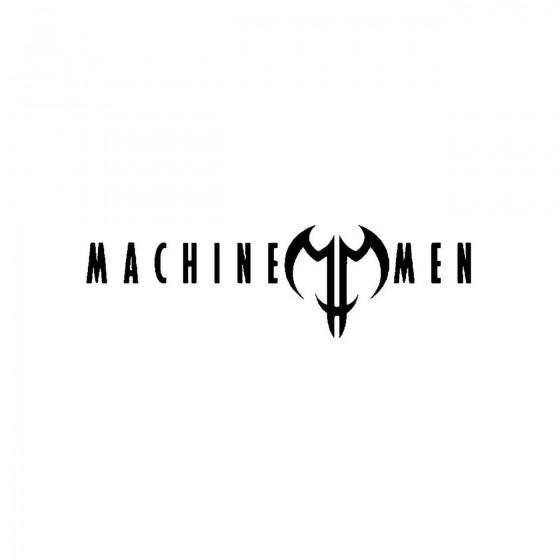 Machine Menband Logo Vinyl...