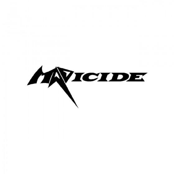 Madicideband Logo Vinyl Decal
