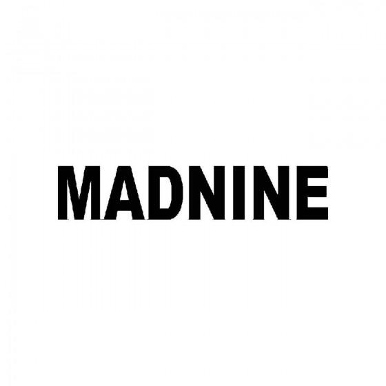 Madnineband Logo Vinyl Decal