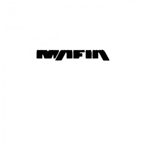 Mafia 2band Logo Vinyl Decal