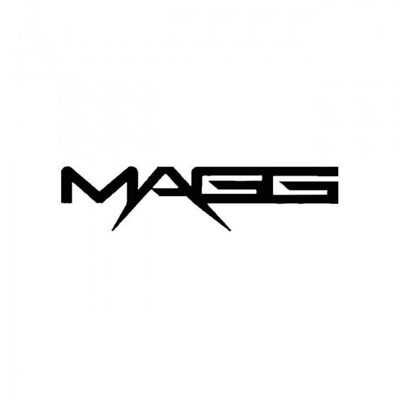 Maggband Logo Vinyl Decal