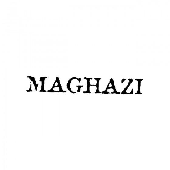 Maghaziband Logo Vinyl Decal