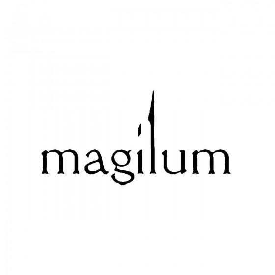 Magilumband Logo Vinyl Decal