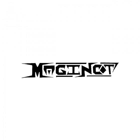 Maginotband Logo Vinyl Decal