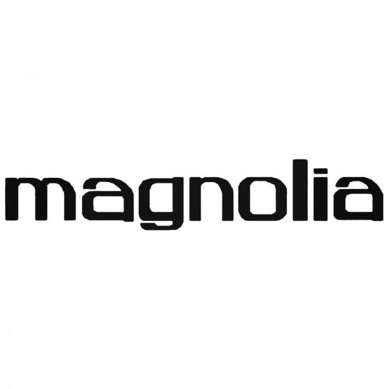Magnolia Band Decal Sticker