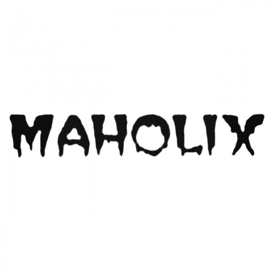 Maholix Band Decal Sticker