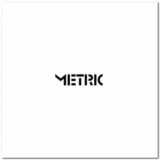Metric Band Decal Sticker