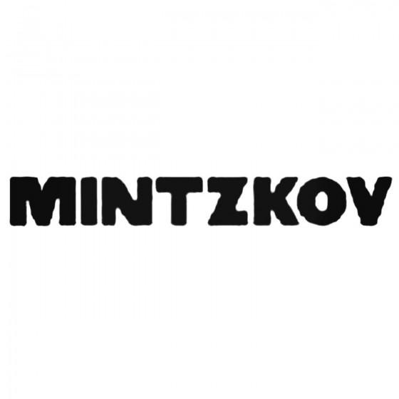 Mintzkov Band Decal Sticker
