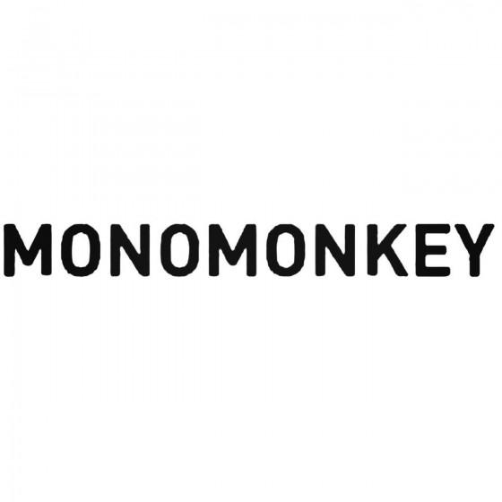 Monomonkey Band Decal Sticker