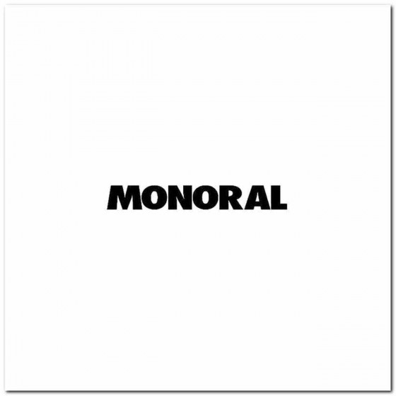 Monoral Band Decal Sticker