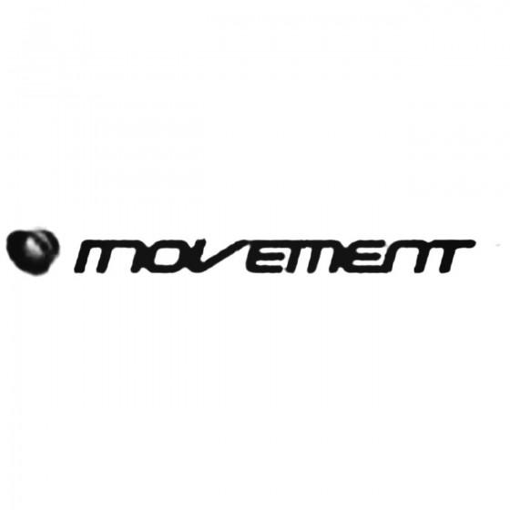 Movement Decal Sticker