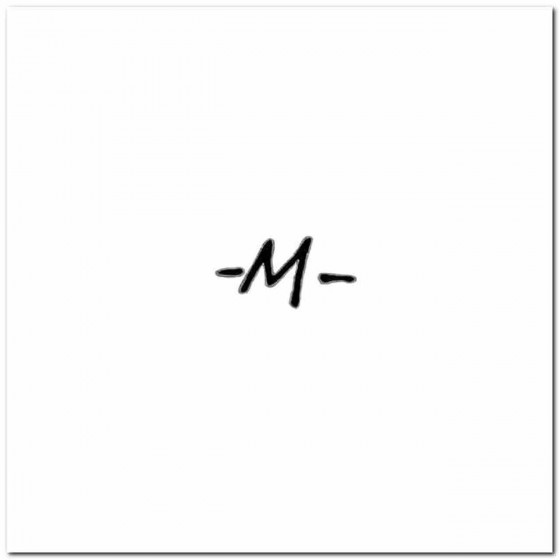 M Rock Logo Decal Band Logo...