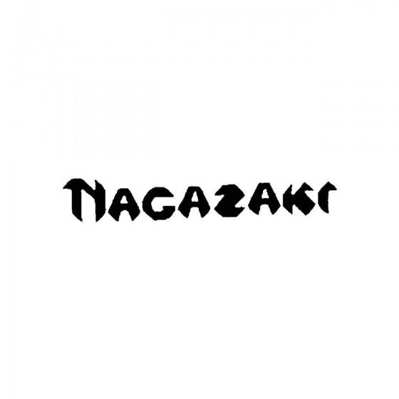 Nagazakiband Logo Vinyl Decal