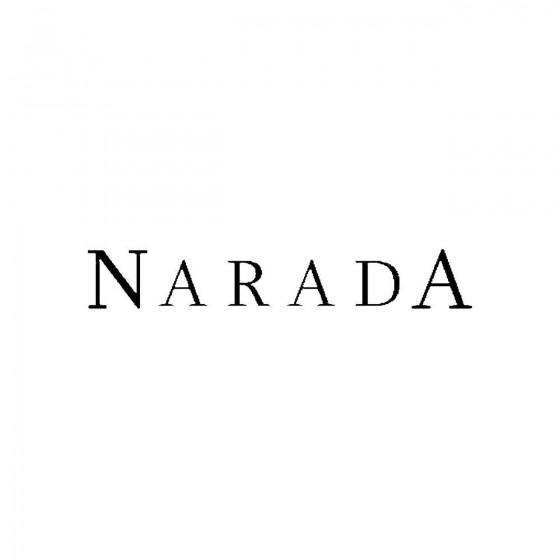 Naradaband Logo Vinyl Decal