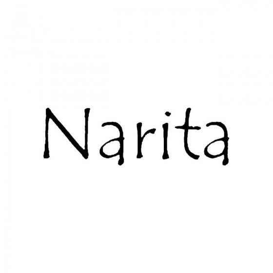 Naritaband Logo Vinyl Decal