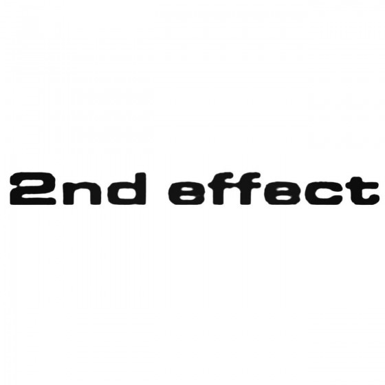 Nd Effect Band Decal Sticker
