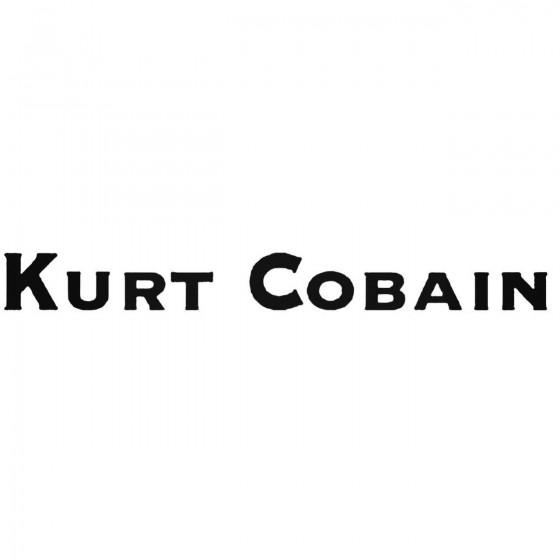 Nirvana Kurt Cobain Band...